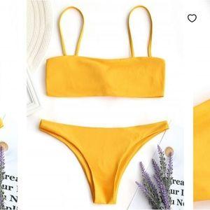 ZAFUL Cheeky Yellow Bikini